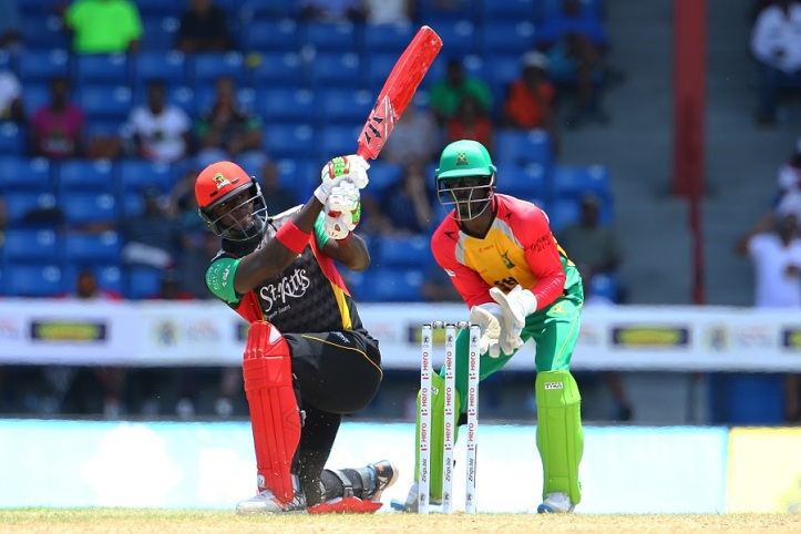 2017 HERO Caribbean Premier League - Guyana Amazon Warriors v St Kitts and Nevis Patriots