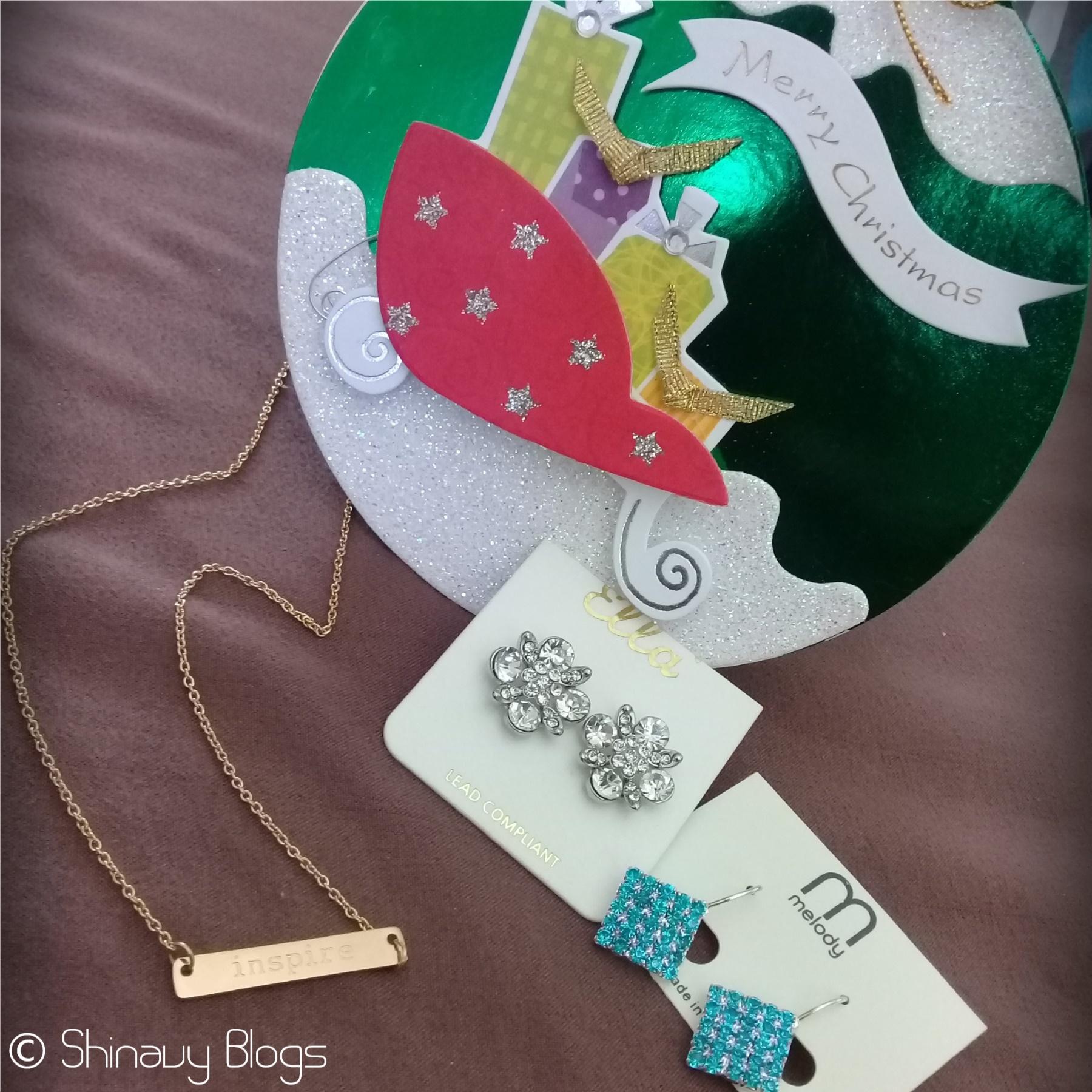 Chain And Earrings