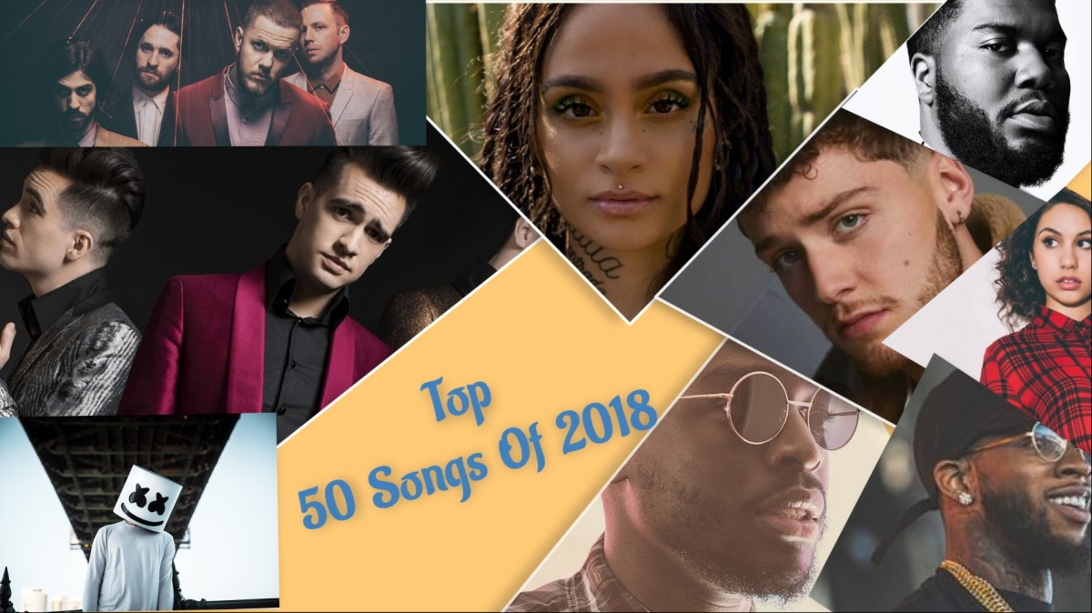 Top 50 Songs For 2018